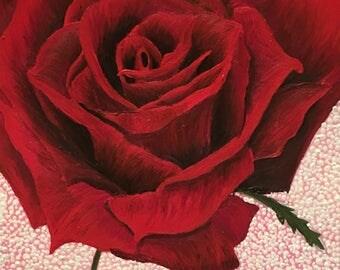 Romance Rose - fine art print