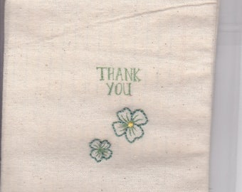 Reusable Gift / Trinket Bag (Thank You)