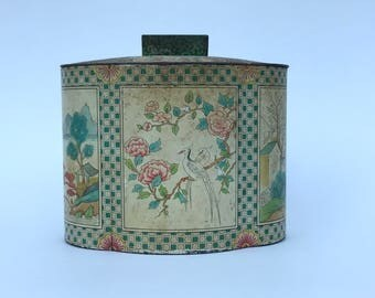 Vintage Baret Ware Vintage Tin, Made in England. English Decor.