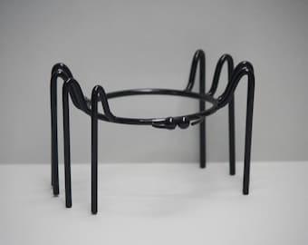 Black Spider Pot Stand (Short)