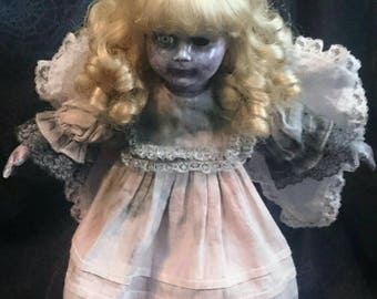 Fallen Angel Horror Doll