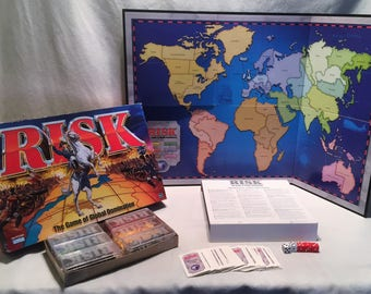 1997 Parker Brothers Risk Game Complete in Great Condition FREE SHIPPING