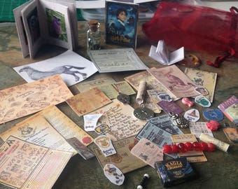 Harry Potter, Miniature, Owl, Books, Spell Books, Harry Potter Cards,Spells,Posters,Slithering,Hufflepuff,Gryffindor,Ravenclaw,Hogwarts Maps
