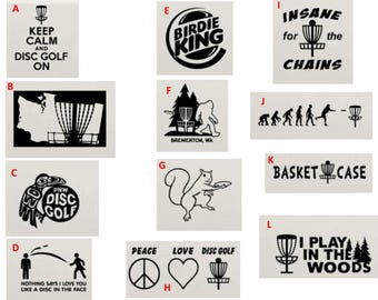 Disc Golf T-shirts | Multiple Designs and Color Options | Free Shipping