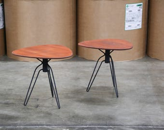 Pair of Rare Hans-Agne Jakobsson Side Tables