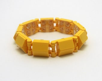 Snap-On Lego Bracelet Series 3 Monochrome - Yellow