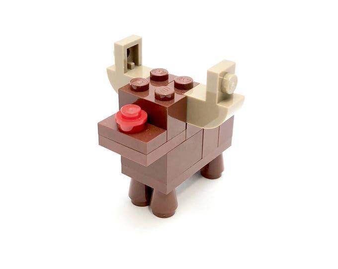 Rudolph Christmas Ornament - Seasonal Building Kit 802