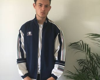 Amazing Champion track jacket, size L