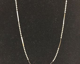 24 KT Gold over Sterling Silver Chain