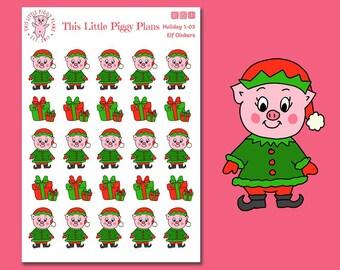 Elf Oinkers - Elf Planner Stickers - Elf - Christmas Planner Stickers - Holiday Stickers - Christmas Gifts - Presents - [Holiday 1-03]