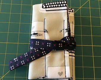 7 pen wrap - Typewriters
