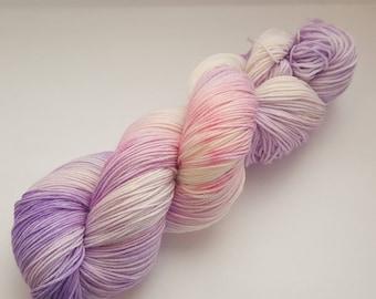 Pansies - 4ply Deluxe Sock hand dyed yarn – Superwash Merino + Nylon 85/15