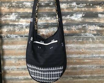 Hobo bag, reversible bag