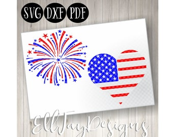 Fire works svg, fourth of july svg, 4th of july svg, patriotic svg, silhouette cut files, cricut cut files, red white and blue cut files USA