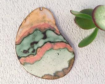 Medal handmade copper