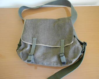 French military backpack