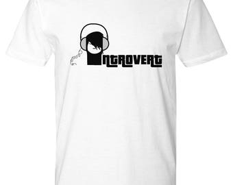 Introvert funny Introvert tshirt Introvert Introvert t-shirt Gifts for introverts Introvert tee Introverted Introverted gift anti social Emo
