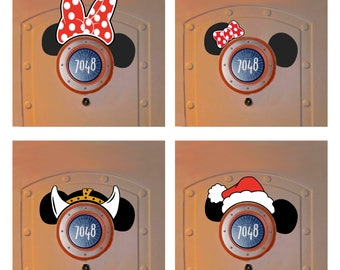 Add Hat or Personalization to any of my listings that includes Mickey Ears over the porthole