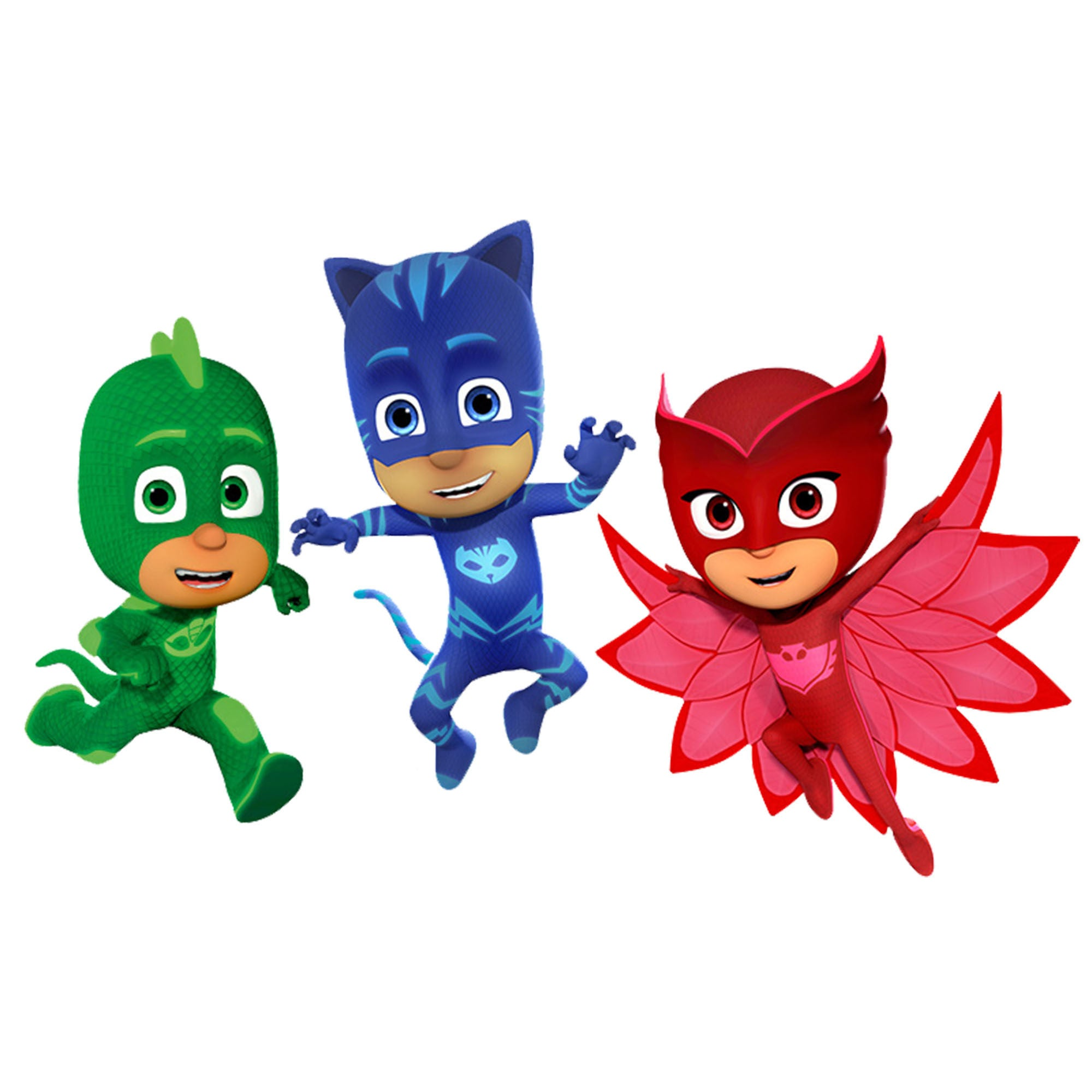 PJ Masks | clip art | nursery decor | party invitations | birthday invitations | birthday party ...