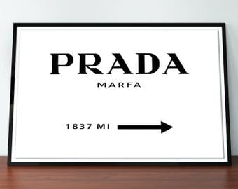 prada prada marble gold prada prada wall art fashion. Black Bedroom Furniture Sets. Home Design Ideas