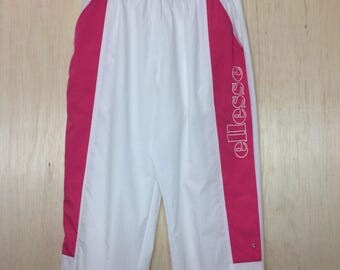 Free Shipping Vintage 90s ELLESSE sport trousers pants