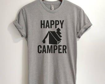 CUSTOM - Happy Camper T-shirt