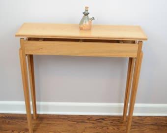 narrow sofa table etsy. Black Bedroom Furniture Sets. Home Design Ideas