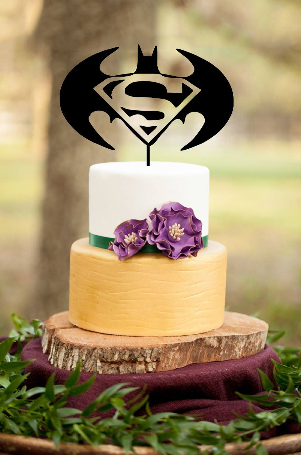 Superman Cake TopperSuperhero Cake TopperSuperman Birthday Cake
