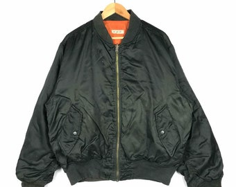 Rare!! Vintage Flight Jacket LL Size