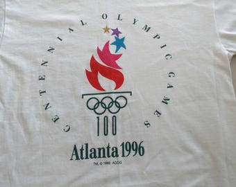Atlanta Olympic games youth large vintage tshirt