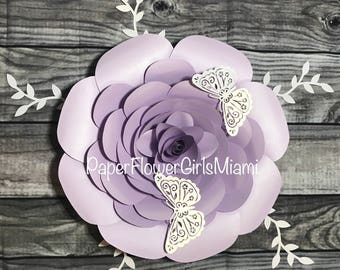Paper Flowers (customize the size, color and quantity)