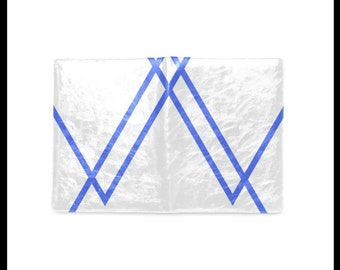 Blue Triangles Writing Journal  / Notebook
