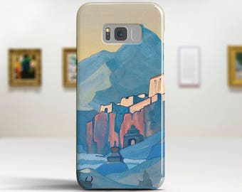 """Nicholas Roerich, """"Stronghold of the Spirit"""". Samsung Galaxy Note 8 Case Google Pixel XL Case LG G6 case Galaxy A3 2017 Case and more."""