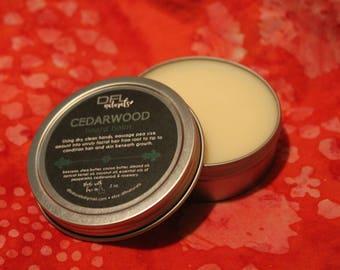 Beard Balm {shea butter, coconut oil, essential oil}