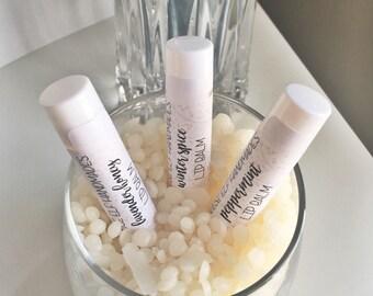 Beeswax Lip Balms 100% Natural (3 Pack)