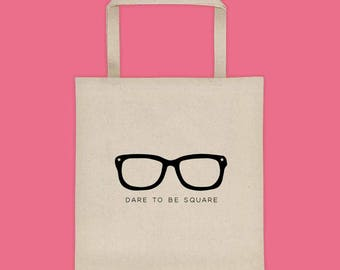 Geeky Tote Bag - Large Tote Bag for Work - Farmers Market Bag - Library Tote - Large Grocery Tote - Large Beach Bag - Nerdy Canvas Tote
