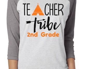 Teacher Tribe Shirt / Shirts For Teachers / Teacher Shirts / 1st Day Of School / Gifts For Teachers / Teacher Gifts  / Graphic Tees / Shirts