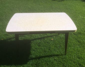 Vintage table kitchen table retro dining table coffee table 60