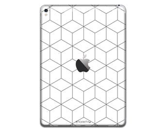 Cube Pattern iPad Skin Sticker shapes iPad Case abstract art iPad Decal art iPad Cover lines iPad Sticker iPad Air iPad Pro 9.7 12.9 IPA138