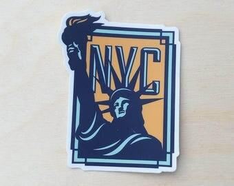 New York City NYC Travel Sticker