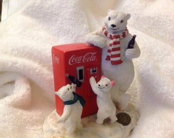 Rare 1996 Coca Cola polar bear