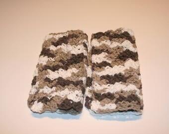 Crochet discloths