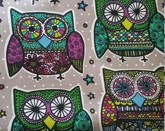 Sugar owls book sleeve