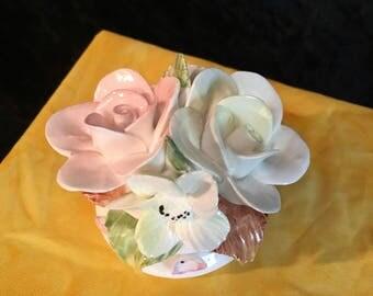 Vintage Flower TableSetter Romanian
