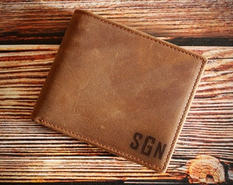 Leather Wallet,Engraved Wallet,Personalized Wallet,Custom Wallet,Mens Leather Wallet,Personalized Mens Wallet,Gifts,Mens,Groomsman Gift