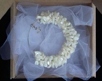 DRAGON bracelet Pearl bracelet Jewelry bracelet of natural stone Energy bracelet Reiki Luxury handmade bracelets for beauty and health