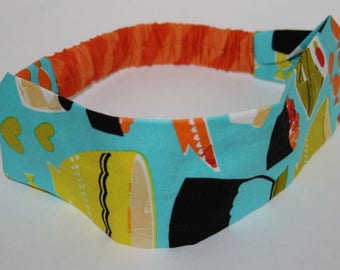 Headband for hair to sushi pattern