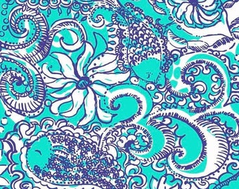 Lilly/lilly inspired/floral/printed vinyl/HTV/vinyl/651/oracal/adhesive/blanks/small business/heat transfer/