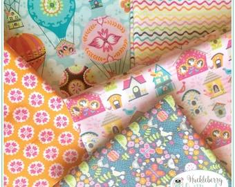 Flutter & Float, 1/2 yard Bundle, Ana Davis, Blend Fabrics, , Quilting Fabric, Cotton Fabric, Yardage