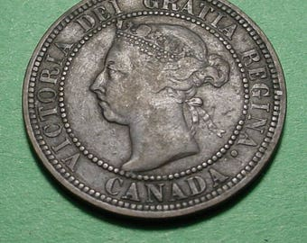 Canada Large Cent  1890-H <>ETW6955